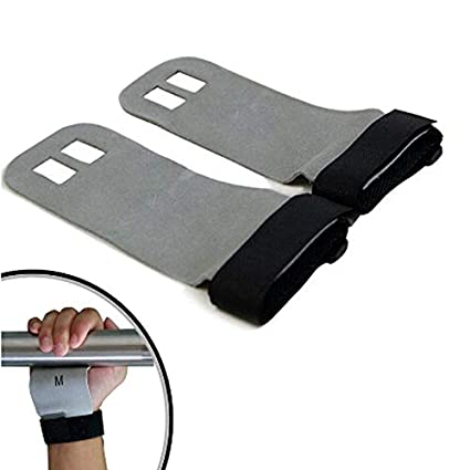1 Pair Crossfit Grips Leather Palm Protectors Hand Grips GYM Glove Pull up Lift