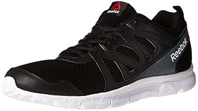 Reebok Men s Run Supreme 2.0 Mt Running Shoe Black/White/Alloy 9 4E US