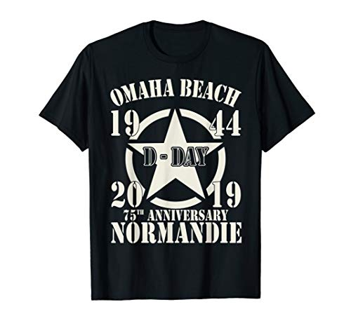Omaha Beach D-Day 75th Anniversary T-Shirt