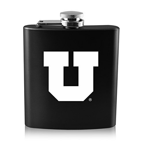 日本未入荷 大学のutah-6オンスカラーステンレススチールflask-black B0188J0JSC B0188J0JSC, 【ついに再販開始!】:927c9c46 --- tadkarecipes.com