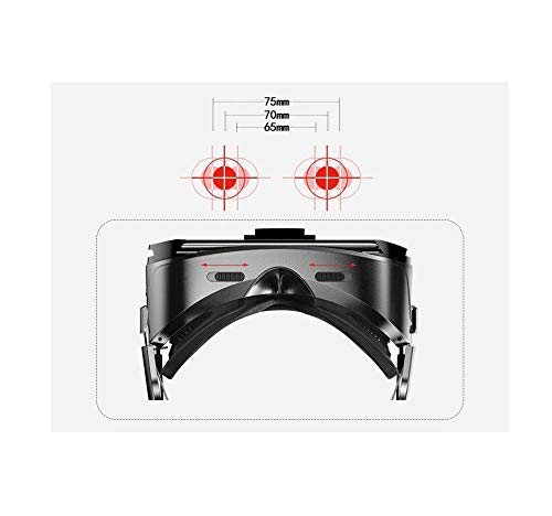 Virtual Reality VR / 3D Smart Glasses with Headset Button Adjuster/Touch  Button/Trigger for Any 4-6 Inch Smartphone