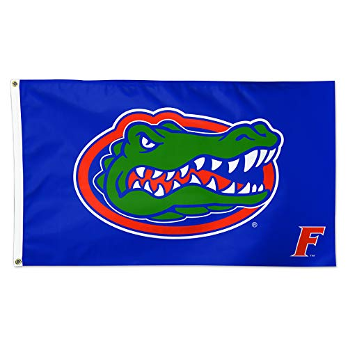 WinCraft University of Florida Gators UF Gator F Blue NCAA Football 3 x 5 Foot Flag by WinCraft
