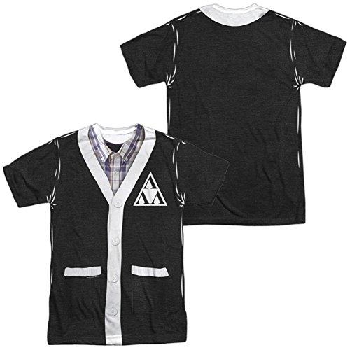 Tri Lambda Costume (Revenge Of The Ners- Tri-Lambda Cardigan Costume Tee (Front/Back) T-Shirt Size XXXL)