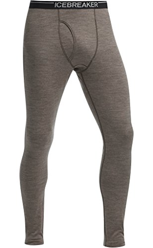 Icebreaker Men's Oasis Leggings with Fly, Trail Heather, ()
