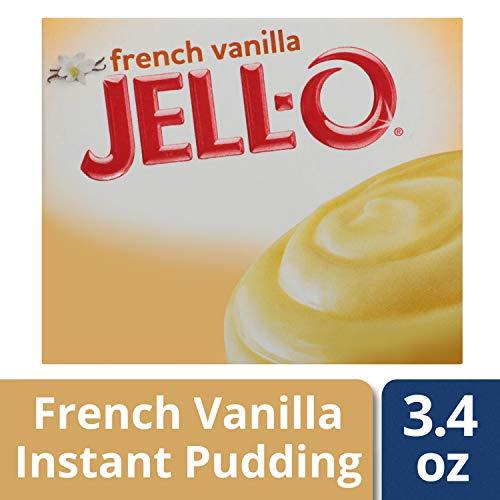 JellO Instant French Vanilla Pudding amp Pie Filling 34 oz Box