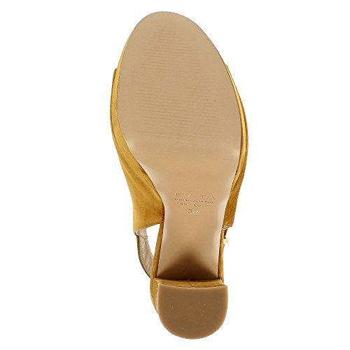 Evita Shoes Nanda - Sandalias de vestir de Piel para mujer coñac