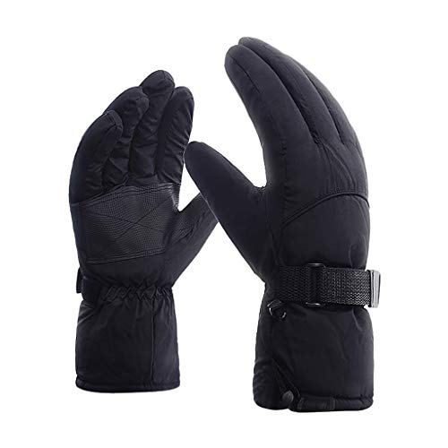 New Winter Outdoor Sport Warm Anti-Slip Snow Snowmobile Snowboard Ski Gloves (L)