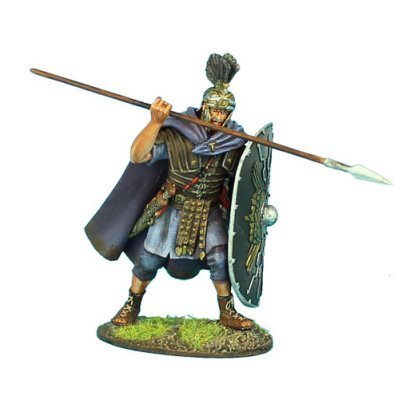 First Legion ROM102 Imperial Roman Praetorian Guard with Spear (Imperial Hand Painted Metal)