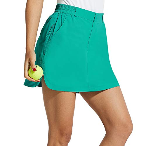 "BALEAF Women's Athletic Skorts 4 Pockets 15"" UPF 50+ Golf Skirt Quick Dry Lightweight for Tennis,Hiking,Everyday Casual"
