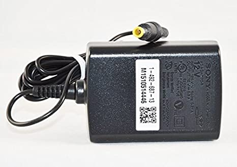 NEW Original SONY AC Adapter for use with SONY BDP-S1700, BDP-S2700,  BDP-S3700, BDP-S4700, BDP-S5700 and BDP-S6700 Blu Ray Players - also works  on