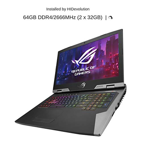 "HIDevolution ASUS ROG G703GX 17.3"" FHD 144Hz Gaming Laptop 