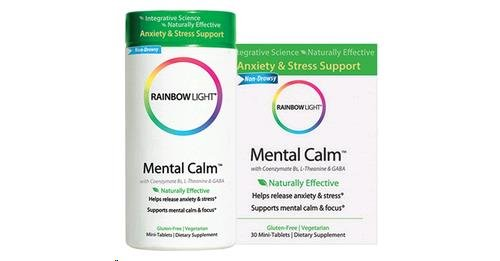 Mental Calm 30 Tablets Pack product image