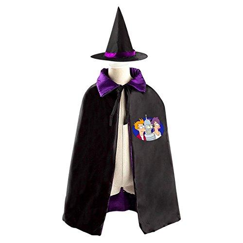 Kids Wizard Witch Costume Set