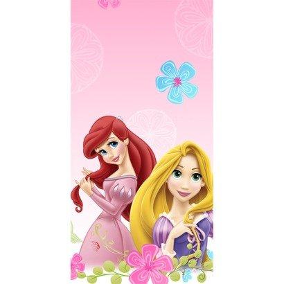 Hallmark Disney Princess 'Sparkle and Shine' Plastic Table Cover (1ct)]()