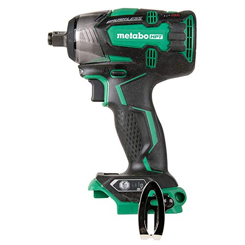 "Metabo HPT 18V Cordless Impact Wrench, 225'-LBS of Torque, 1/2"" Square Drive, IP56 Compliant, LED Light, 4-Stage Electronic Speed Switch, Brushless, Tool Only - No Battery (WR18DBDL2Q4)"