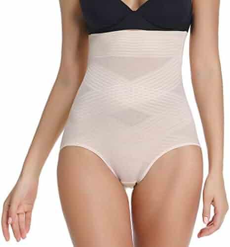 1c1317829603 Women High Waist Tummy Control Shapewear Panties Butt Lifter Briefs Shaping  Girdle Underwear