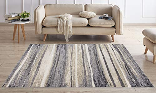 Concord Global Charlotte Collection Retro Soft 5-ft 3-in x 7-ft 3-in Area Rug from Concord Global Trading