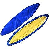 iiSPORT Waterproof Kayak Canoe Storage Cover Dustproof Cockpit Cover, UV Sunblock Shield Protector for Fishing Boat…