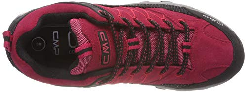 Granita Low Red Azzurro corallo Rise Rigel Boots Graffitte Hiking CMP 72bm Women's ECqzwz