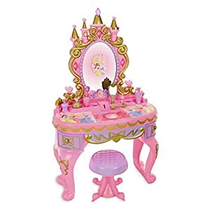 Amazon Com Disney Princess Magical Talking Vanity Toys