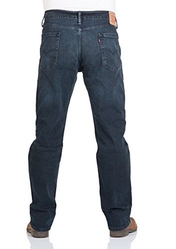 Levi's - Jeans LEVI'S 514 Straight Fit Ship Yard - W32/L34, Bleu