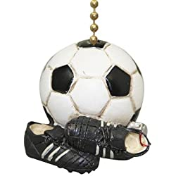 Soccer Ball Star Fan Cleats Win Game Day Sport Fan Pull