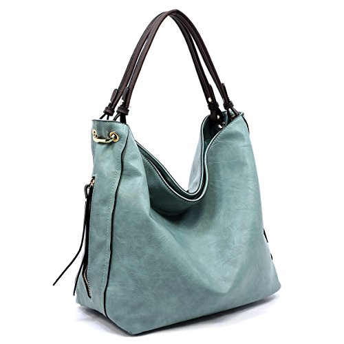 Side Handbag Light Republic Hobo Handbag Zip Blue ApqUwTax