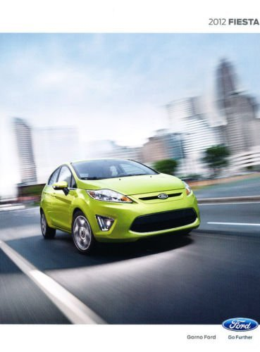 2012 Ford Fiesta 28-page Sales Brochure Catalog