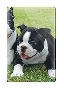 Ipad Mini/mini 2 Hard Back With Bumper Silicone Gel Tpu Case Cover Boston Terrier Dog