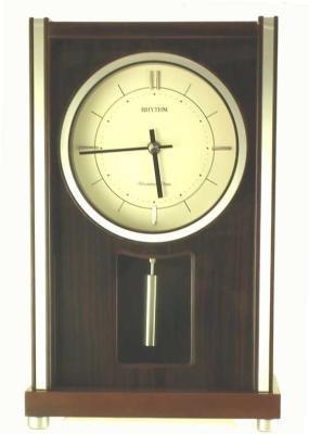 Richmond WSM Musical - Chiming Mantel Clock by Rhythm Clocks