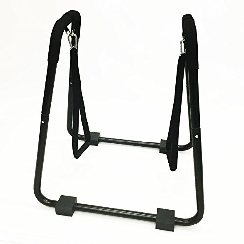 Apontus Dip Stand Station (with Push Up Straps)