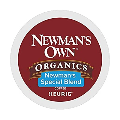 Newman's Own Special Blend coffee single serve capsules for Keurig K-Cup pod brewers, 72 total