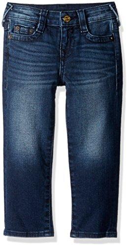 True Religion Big Boys' Geno Relaxed Slim Jean, Dark Wash, 10 (Religion Jeans True Boys)