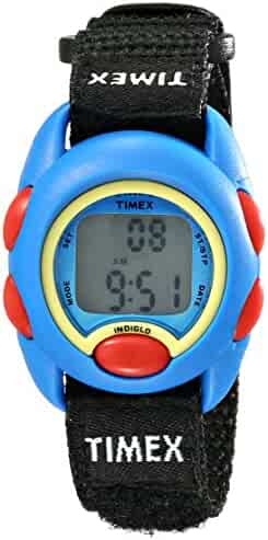 Timex Kids' TW7B996009J Digital Display Watch with Adjustable Nylon Strap