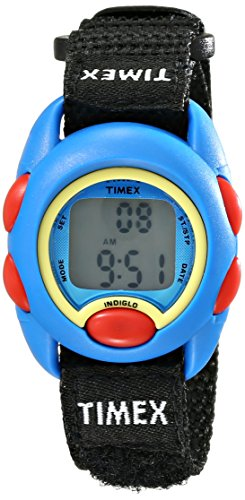 Timex Youth Kids | Black Strap Blue Case | Digital Watch TW7B99600