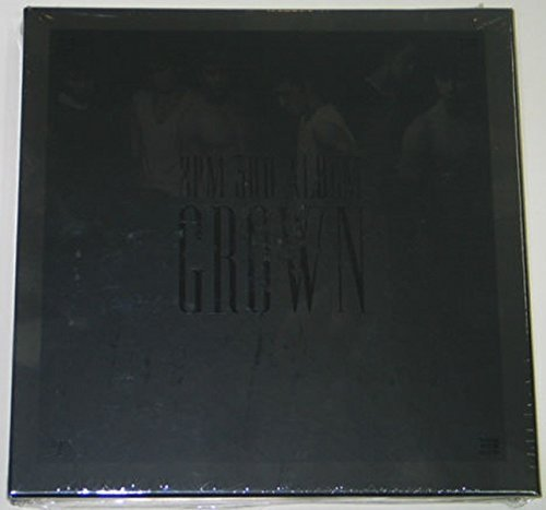 2PM - Grown (Vol. 3 Version-B) CD+52p Photo Booklet+Extra Gift Photo