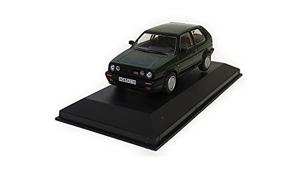 Amazon.com: Corgi 1/43 Volkswagen Golf Mk.2 GTI 16V LHD Germany specification Oak Green: Toys & Games
