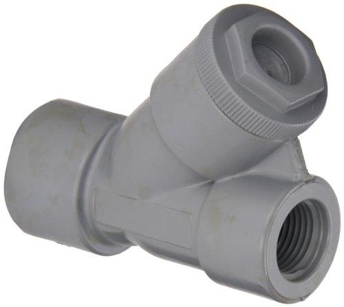 Hayward CPVC Y-Strainer, FPM Seal, 1/2'' Threaded by Hayward Flow Control