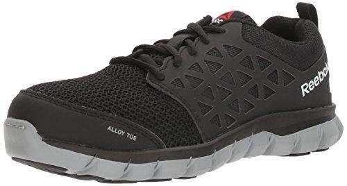 Sublite Women's Reebok Alloy Shoe Athletic Black Cushion Toe Work Work Work RB041 HXA5fUAn