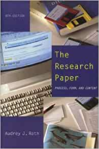 form of research paper