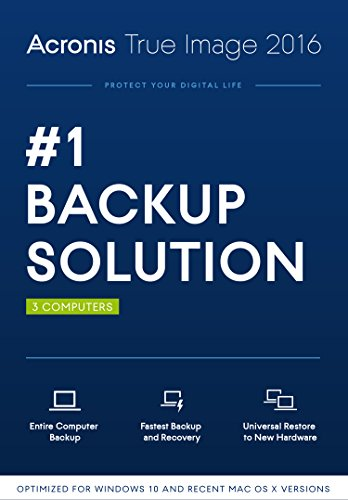 Acronis True Image 2016 (3 Computer) [Old Version]