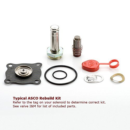 ASCO Power Technologies 302276 Asco rebuild kit for 8210AC series valves