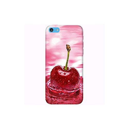 Coque Apple Iphone 5c - Cerise eau rose