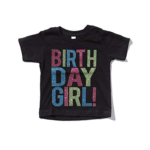 Birthday Girl Toddler Kids T-Shirt Black Youth Small