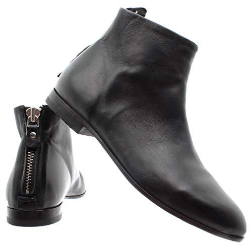 Scarpe L'italia Nero Fatto New Nero 76801 Volpe Nuova Fox Shoes Moma Moma Dell'annata Ankle Women's 76801 Leather Di Made Boots Delle Vintage Ha 3a Italy Cuoio 3a Donne Stivaletti Oqp8w6Fx