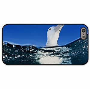 iPhone 5 5S Black Hardshell Case water sea swim Desin Images Protector Back Cover