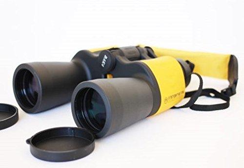 オレンジマリン防水双眼鏡7x50 - ブラック/イエロー   B01DYR4HMM