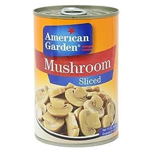 American Garden Mushrooms Sliced - 425 gm