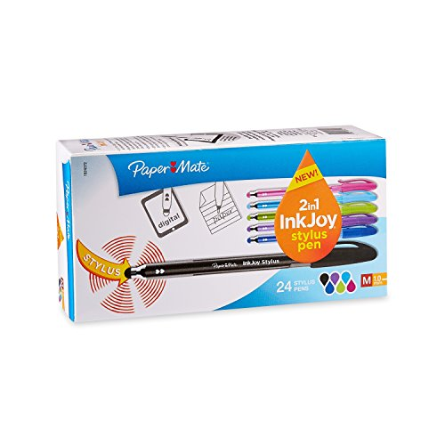 paper-mate-inkjoy-100st-ballpoint-pen-and-touchscreen-stylus-capped-assorted-colors-1924372
