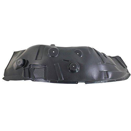 Splash Shield Front Left Side Fender Liner Plastic for RAM 2500/3500 P/U 10-12 4WD ()